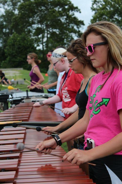 percussion band ma
