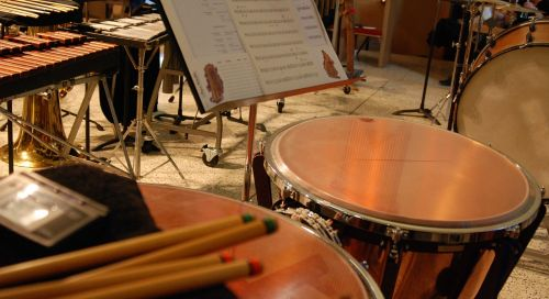 percussion timpani marimba