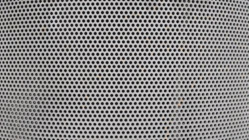 perforated sheet curved sheet