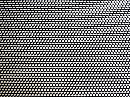 perforated sheet pattern black and white