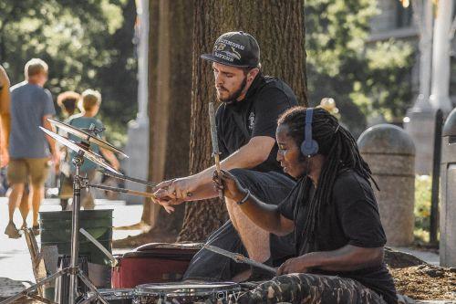 performer drums talent