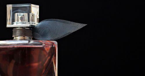 perfume flacon glass bottle