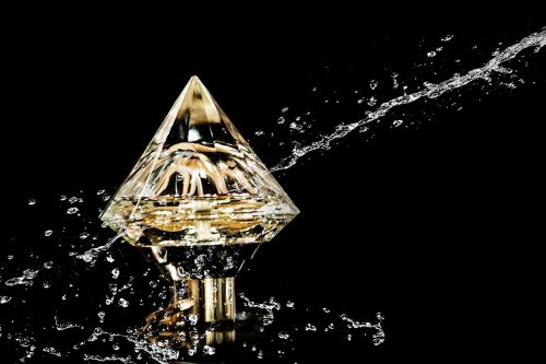 perfume diamond water