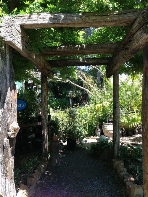 pergola rustic pergola garden walk
