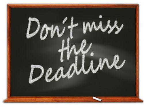 period board deadline