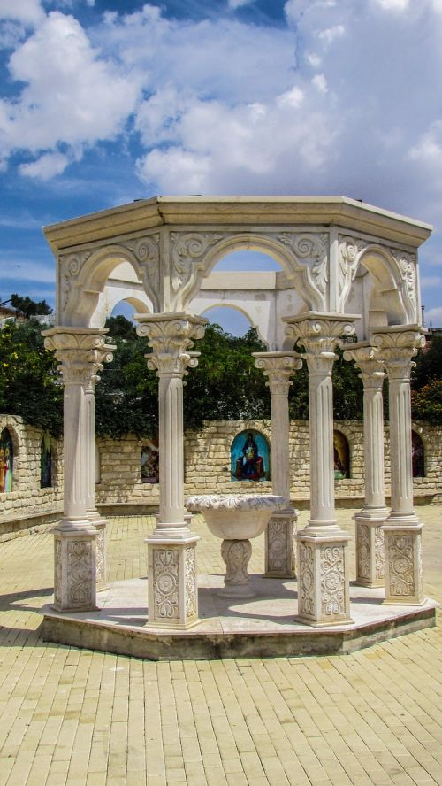 peristyle colonnade monastery