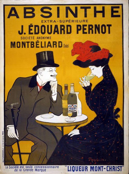Pernot Liqueur Advert Poster