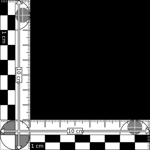 perpendicular scale measurement