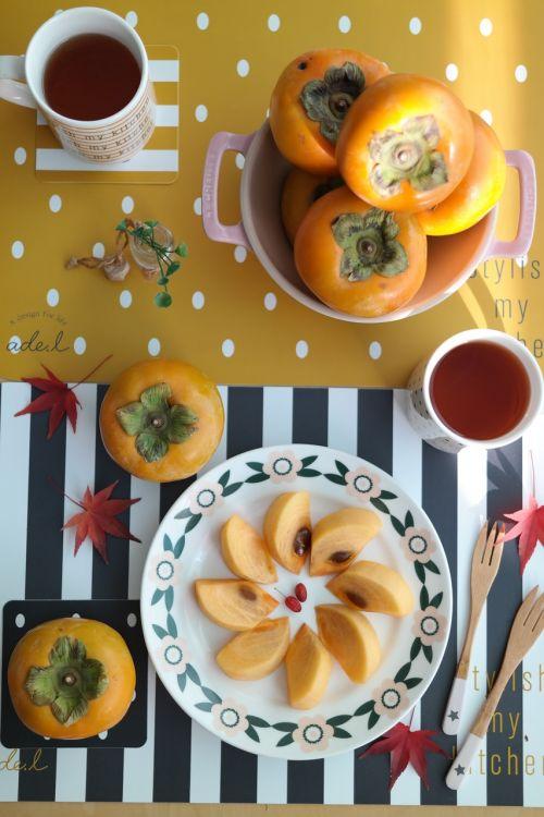 persimmon autumn republic of korea