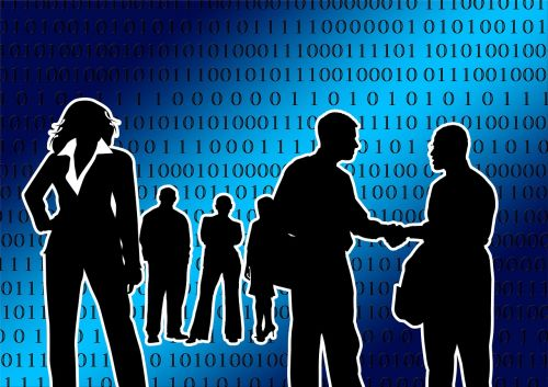person businessmen group