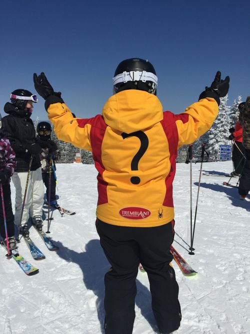 person skier question