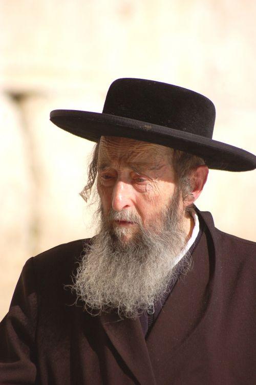 person jew jerusalem