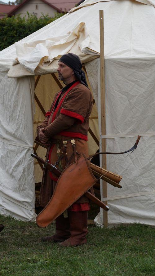 person warrior bowman
