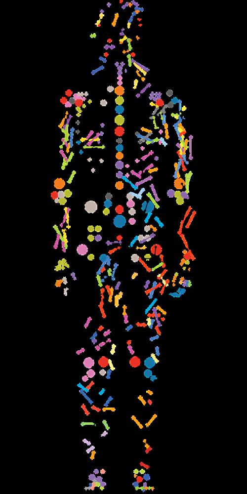 person from dots personalized medicine precision medicine