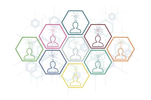 personal collective hexagon