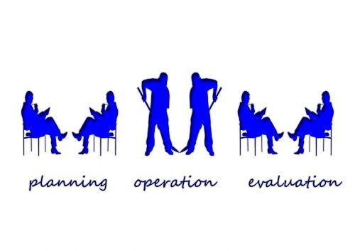 persons silhouettes implementation