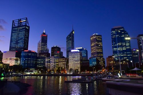 perth western australia city