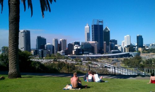 perth west australia city