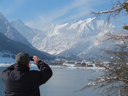 pertisau am achensee lake austria