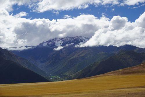 Peru,kalnai,ledynai