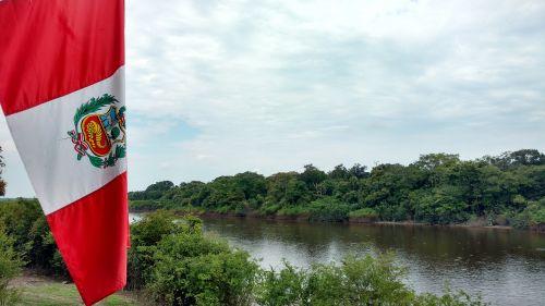 peru landscape river