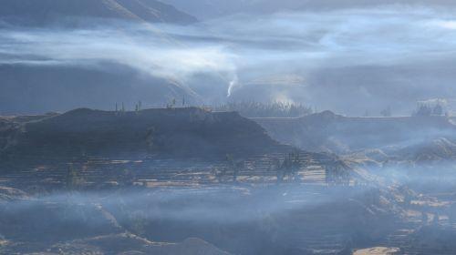 peru plateau fire