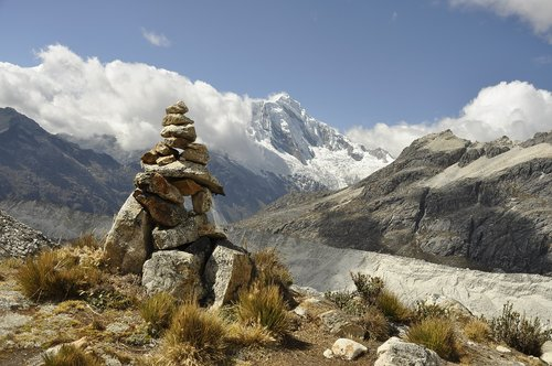 peru  trek  mountain
