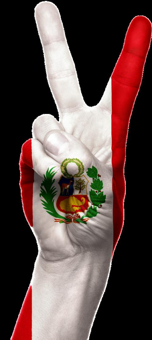 Peru,vėliava,ranka,patriotinis,patriotizmas,taika,pergalė,ženklas,simbolis,Šalis