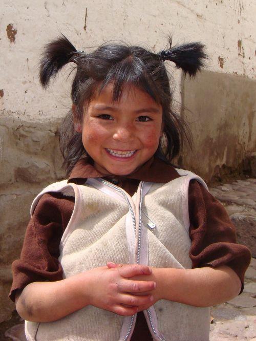 peru girl child