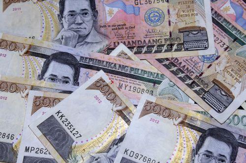 Peso Bills Background