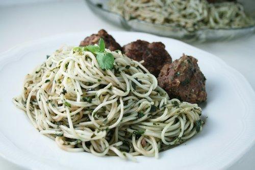 pesto  pasta  italian