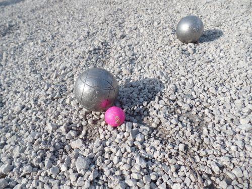 petanque balls jack
