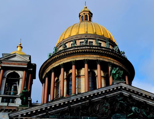 peter saint isaac's cathedral dome