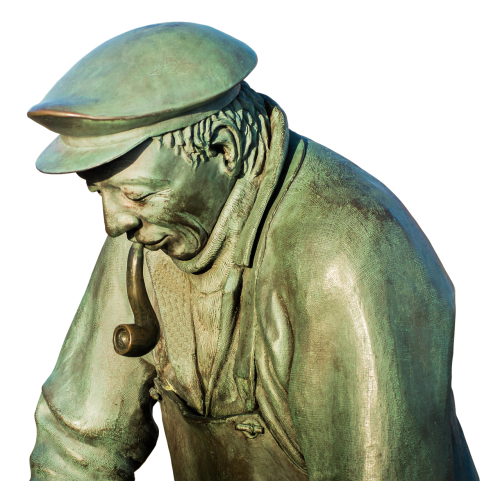 peter eel maasholm statue