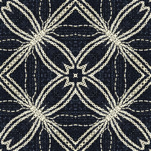 Small Embroidered Fabric (16)