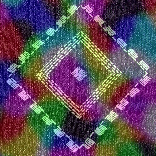 Small Embroidered Fabric (4)