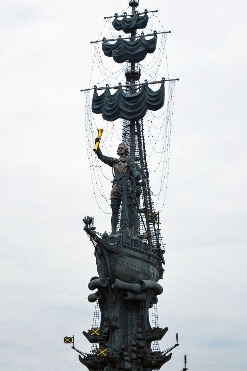 petr pervyj tsar peter i peter i monument