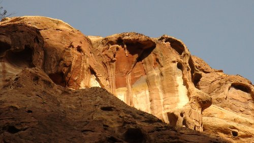 petra  landscape  rock
