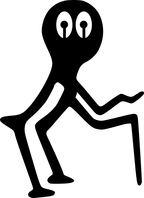 petroglyph alien art