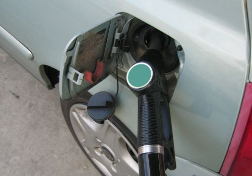petrol gas pump refuel