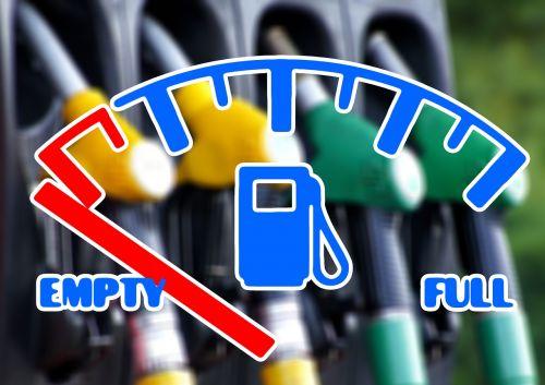 petrol tank gas pump