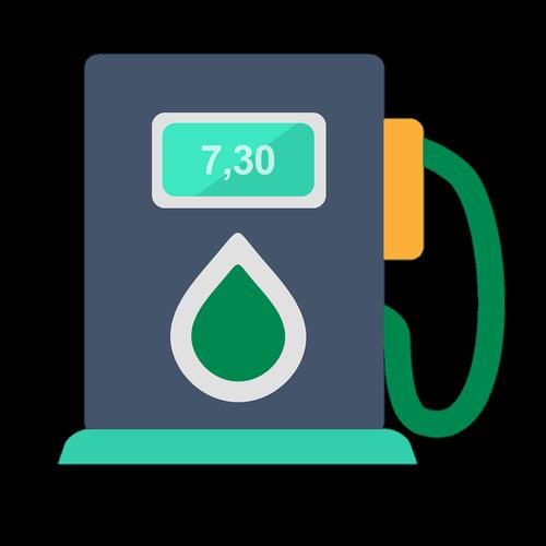 petrol  icon gas station  petrol pump