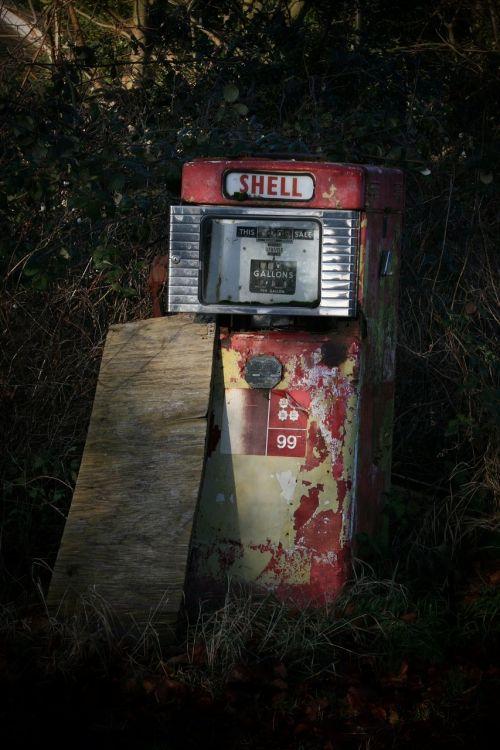 petrol pump shell fuel