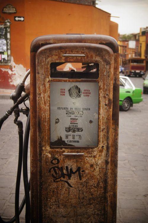 petrol station gasoline gas
