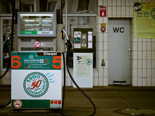 petrol stations dispensers petrol