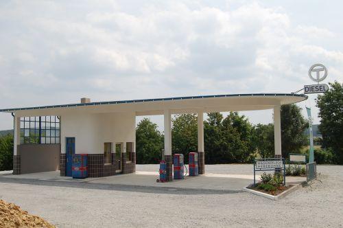 petrol stations nostalgic building