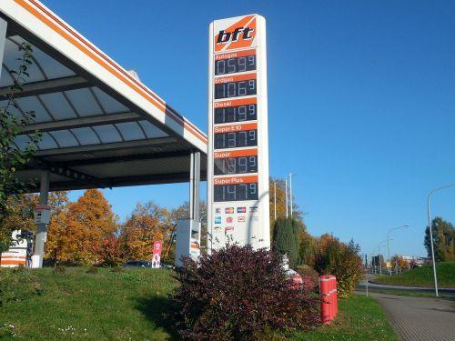 petrol stations refuel gas pump