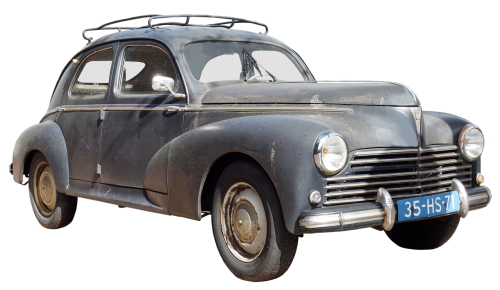 peugeot type 203 model years 1948 to 1954