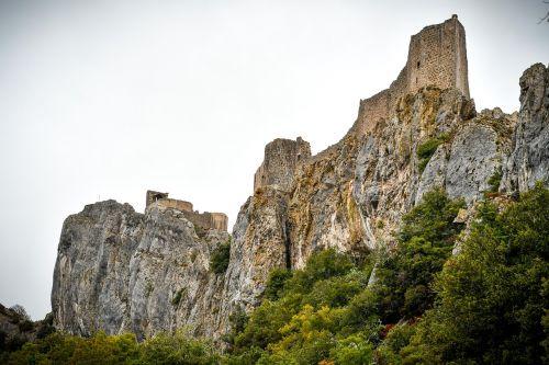 peyrepertuse medieval castle