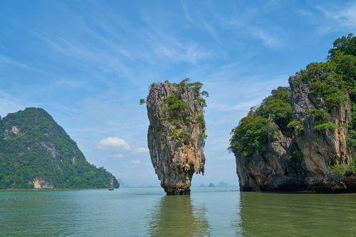 phang nga bay phuket province james bond island
